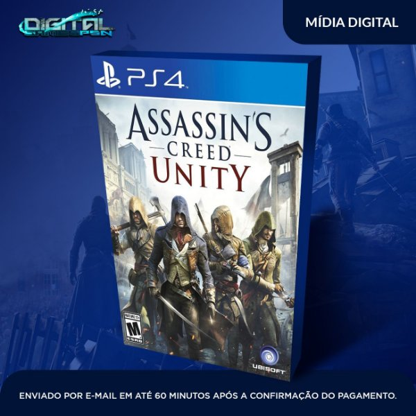 Assassin's Creed Unity PS4 Game Digital
