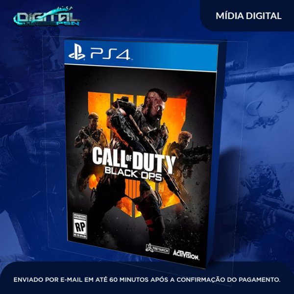 Call of Duty Black Ops 4 Game Digital PS4