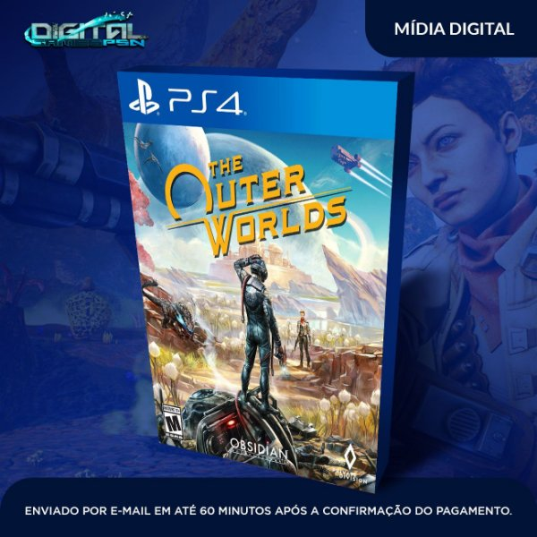 The Outer Worlds PS4 Game Digital