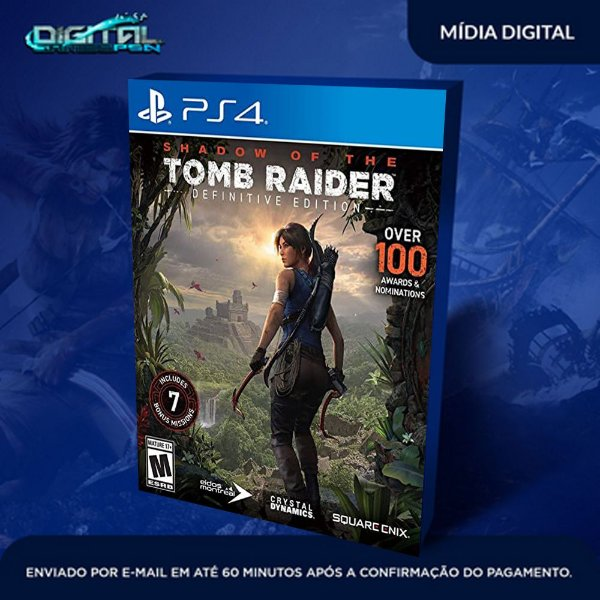 Shadow of the Tomb Raider Definitive Edition Ps4 Game Digital