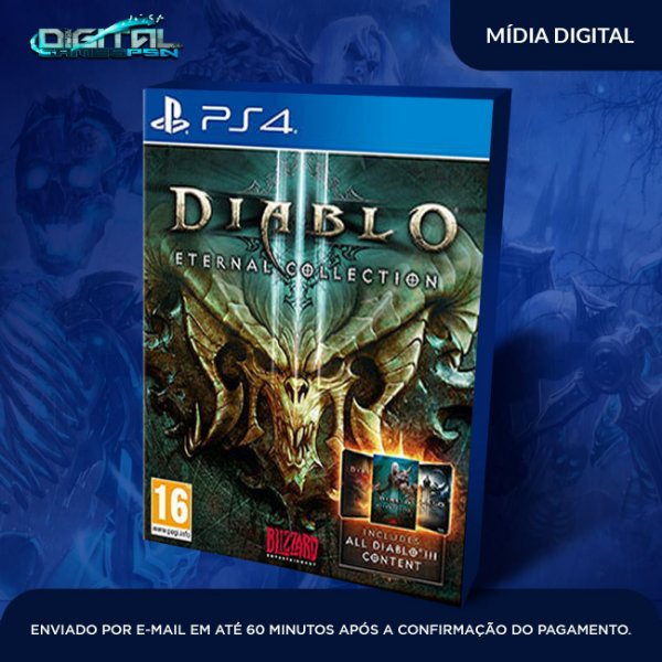 Diablo III Eternal Collection PS4 Jogo Digital