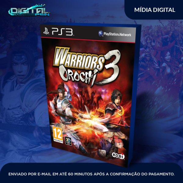 WARRIORS OROCHI 3 Ultimate Ps3 Game Digital