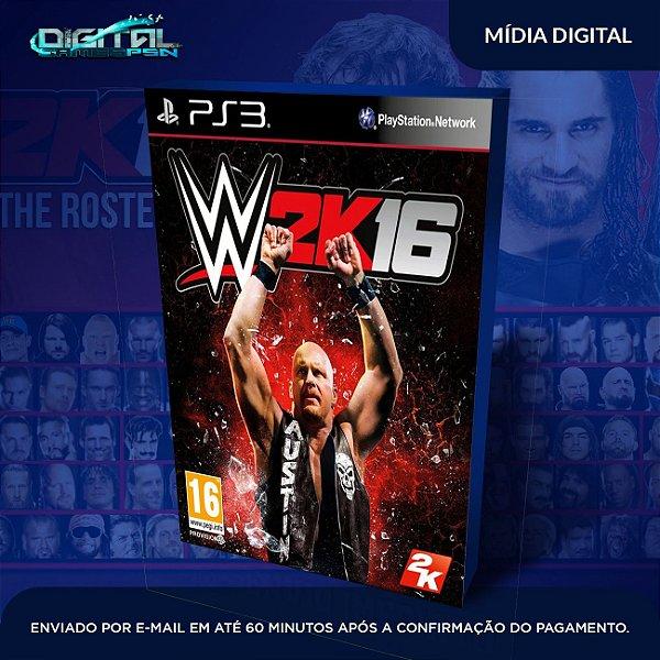 WWE 2K16 Ps3 Game Digital