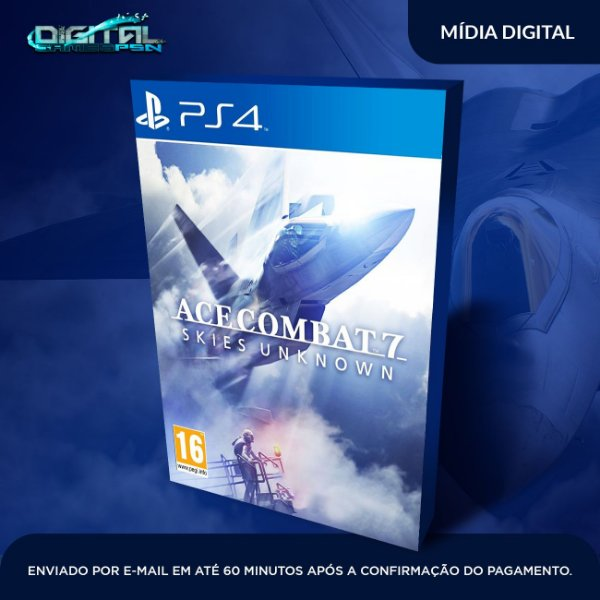 ACE COMBAT 7 SKIES UNKNOWN PS4 Game Digital