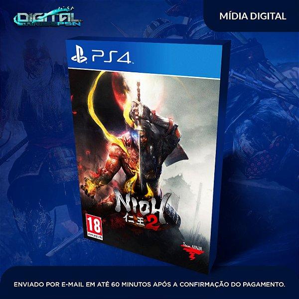 Nioh 2 Ps4 Game Digital Lançamento