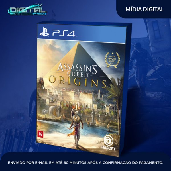 Assassin's Creed Origins Ps4 Game Digital