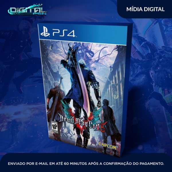 Devil May Cry 5 PS4 Game Digital
