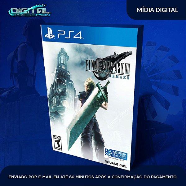 FINAL FANTASY VII REMAKE PS4 Game Digital