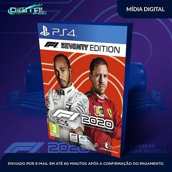 F1 2020  Seventy Edition / Deluxe Schumacher PS4 Game Digital