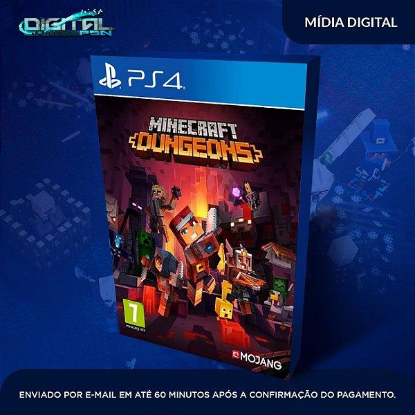 Minecraft Dungeons Ps4 Digital