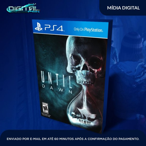 Until Dawn Ps4 Mídia Digital