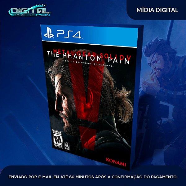 Metal Gear Solid V: The Phantom Pain Ps4 Mídia Digital original 1