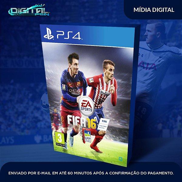 Fifa 16 Ps4 Mídia Digital Dublado em Português do brasil!