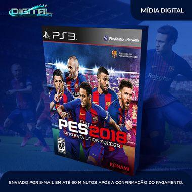 Pro Evolution Soccer 2018 PES 2018 Ps3 Mídia Digital