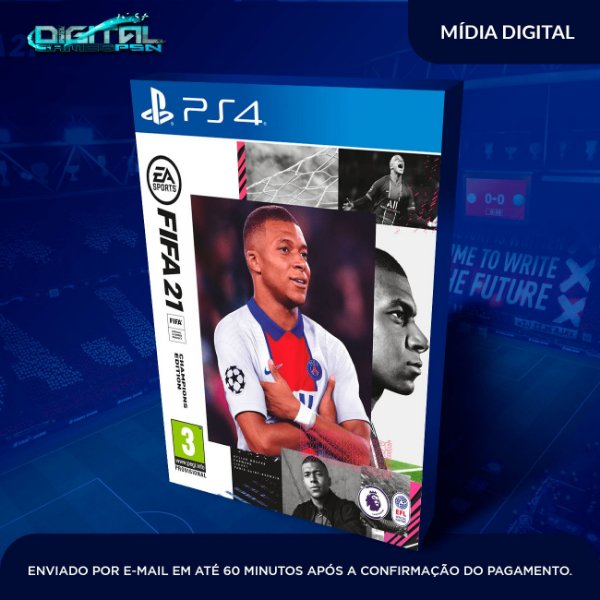 FIFA 21 Standard Edition PS4 Mídia Digital Secundária