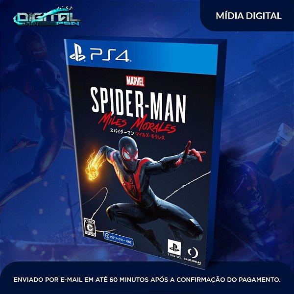 Marvel's Spider-Man: Miles Morales Ps4 Mídia Digital