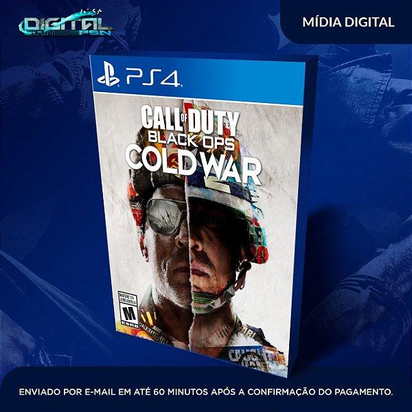 Call Of Duty Cold War Ps4 Mídia Digital