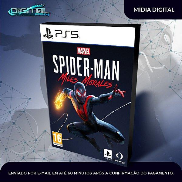 Marvel's Spider-Man: Miles Morales PS5 Mídia Digital