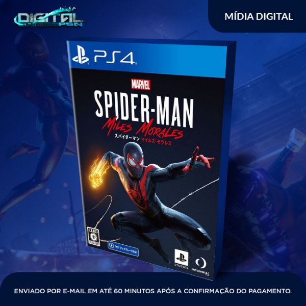 Marvel's Spider-Man: Miles Morales Ps4 Mídia Digital - SECUNDARIA