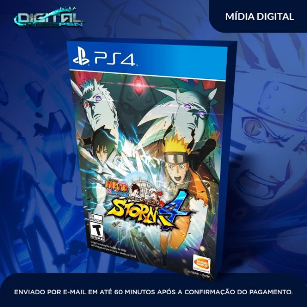 Naruto Shippuden Ultimate Storm 4 Ps4 Midia Digital