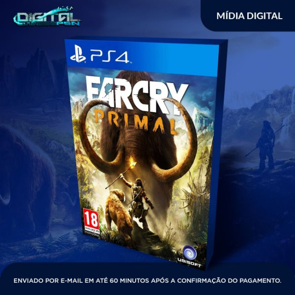 Far Cry Primal Game Digital Ps4