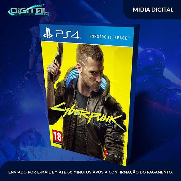 Cyberpunk 2077 Ps4 Mídia Digital