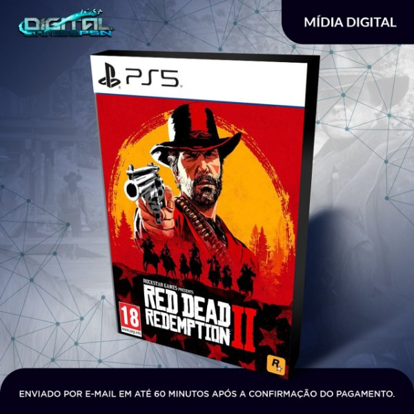 Red Dead Redemption 2 Ps5 Mídia Digital