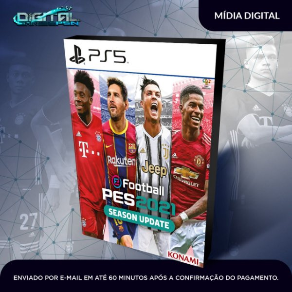 Efootball Pes 2021 Ps5 Mídia Digital