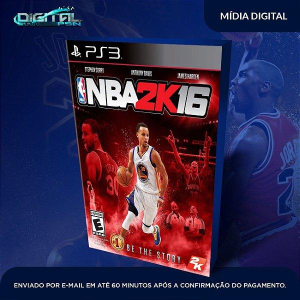 NBA 2K16 Mídia Digital Ps3