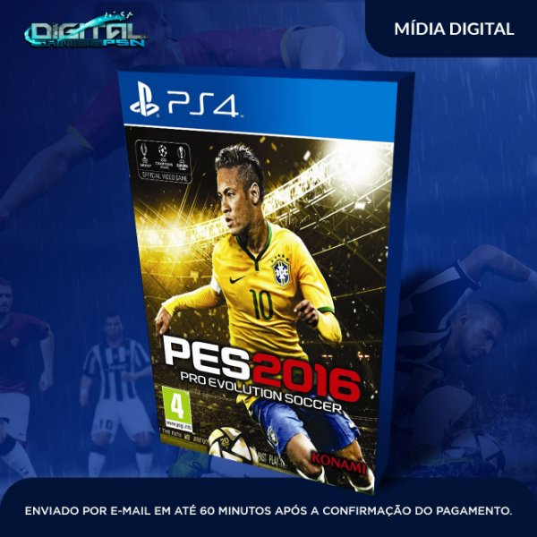 Pro Evolution Soccer 2016 Ps4 Mídia Digital