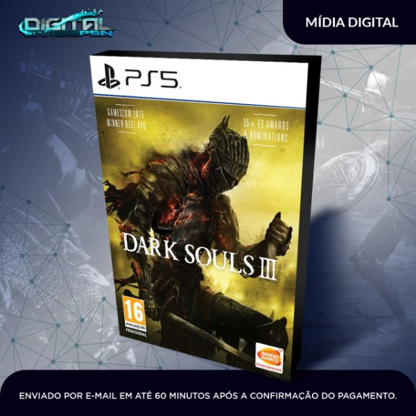 Dark Souls™ III Midia Digital PS5 Primária