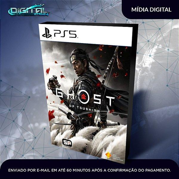 Ghost of Tsushima PS5 Mídia Digital Primária