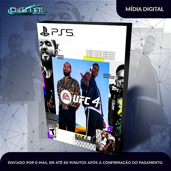 EA UFC 4 Standard Edition Ps5 Mídia Digital