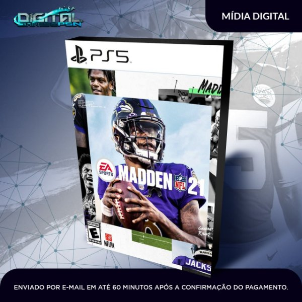 EA Madden NFL 21 2021 Ps5 Mídia Digital