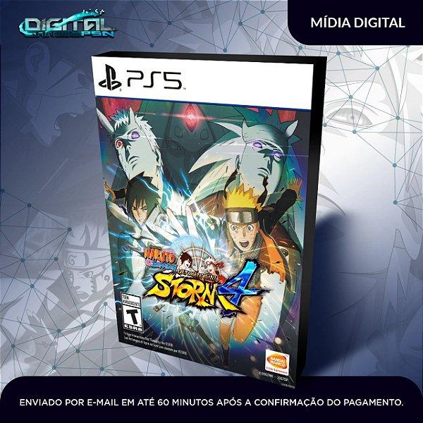 Naruto Shippuden Ultimate Storm 4 Ps5 Midia Digital