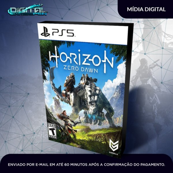 Horizon Zero Dawn Ps5 Mídia Digital
