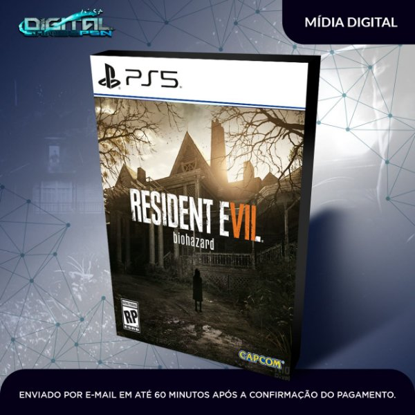 Resident Evil 7 Biohazard Ps5 Mídia digital