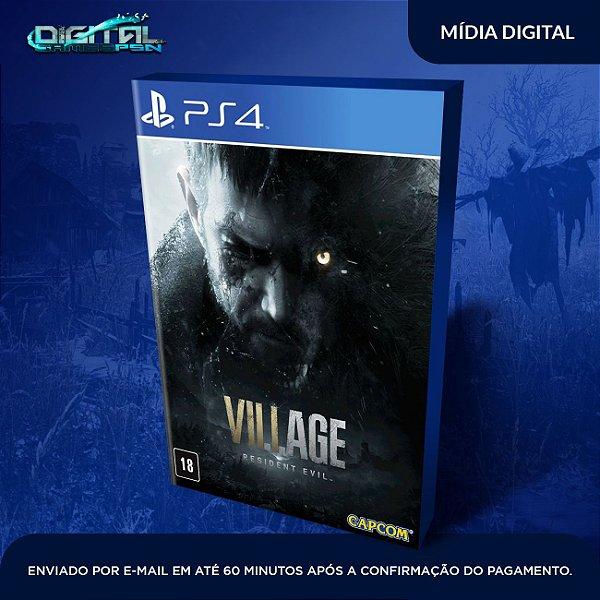 Resident Evil Village Ps4 Mídia Digital - Lançamento em 07/05