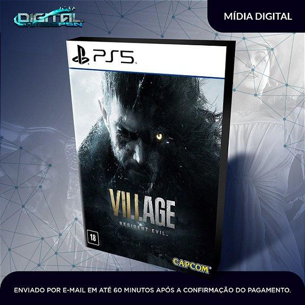 Resident Evil Village Ps5 Mídia Digital - Lançamento em 07/05