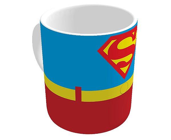 Caneca Roupa do Super Homem