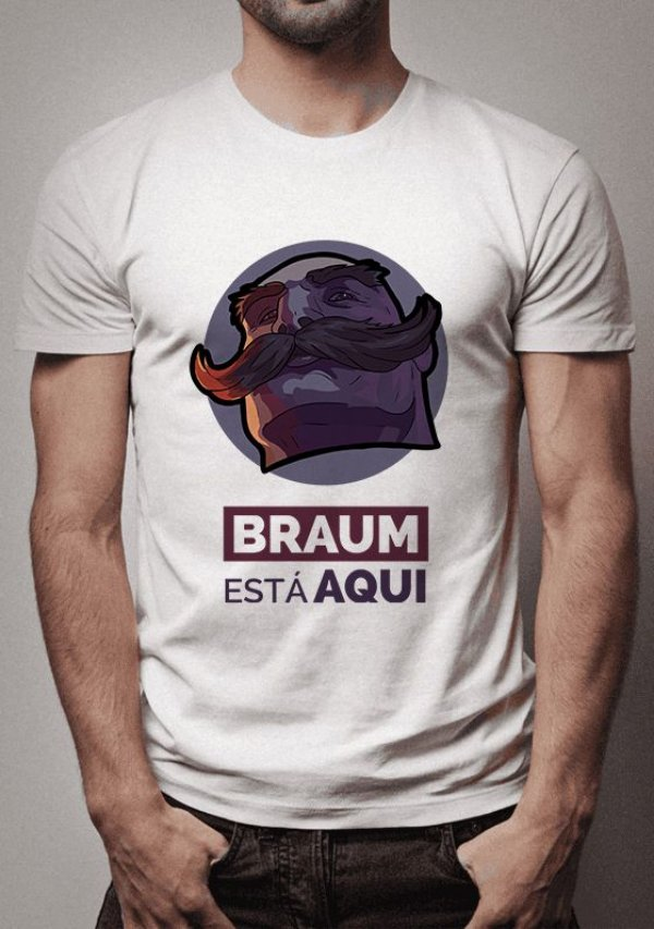 Camiseta Braum League of Legends