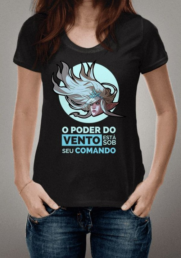 Camiseta Janna League of Legends