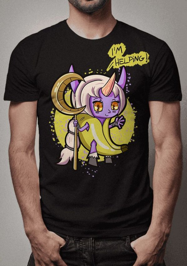Camiseta Soraka Banana League of Legends