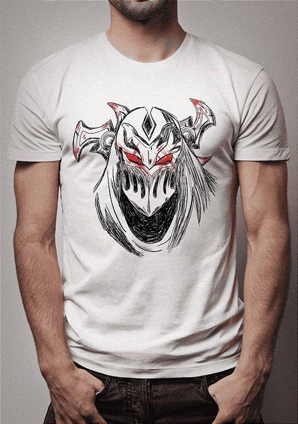 Camiseta Zed Sketch Lines League of Legends