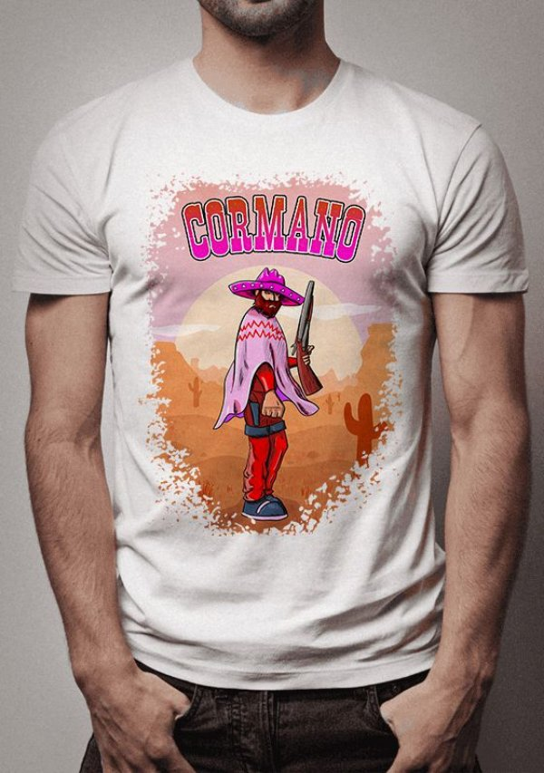 Camiseta Cormano Sunset Riders
