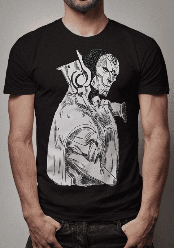Camiseta Jhin Traces League of Legends