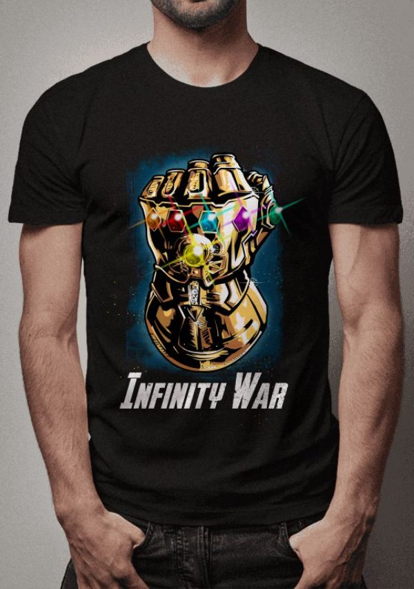 Camiseta Manopla do Infinito Thanos
