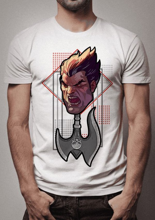 Camiseta Darius Axe League of Legends