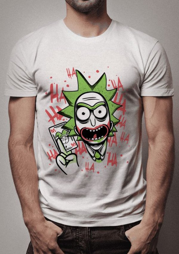 Camiseta JokeRick Rick and Morty