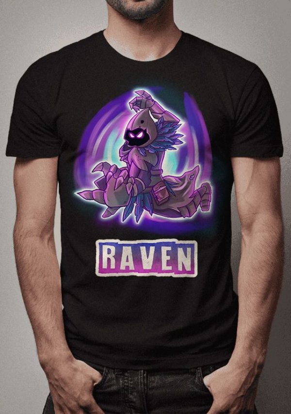 Camiseta Raven Fortnite